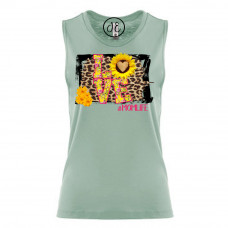 Love Mom Life Festival Muscle Tank